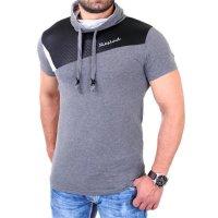 Reslad T-Shirt mit Schalkragen RS-05