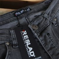 Reslad Herren Jeans Slim Fit Destroyed RS-2062
