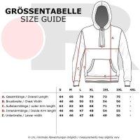 Reslad Strickpullover Herren Two Tone Rundhals Pullover Grobstrick RS-16081 Schwarz XL