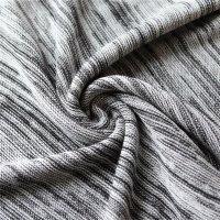 Reslad Strickpullover Herren-Pullover Melange Colorblock Rundhals Strick-Pulli RS-3124 Ecru S