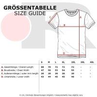 Reslad Herren Zipper Style T-Shirt Poloshirt RS-5028 Schwarz 2XL