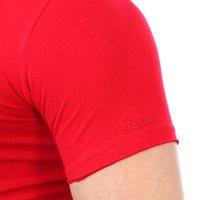 Reslad Herren Kapuzen T-Shirt Kingston RS-5053 Rot L