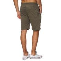 Reslad Sweat-Shorts Herren Basic Sport Freizeit Kurze Sweat-Hose RS-5061 Khaki M