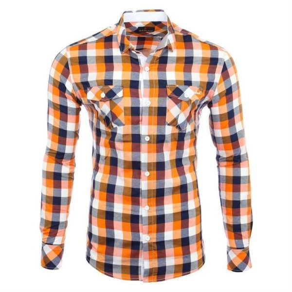 Reslad Herren Hemd Orlando RS-7060 Orange S