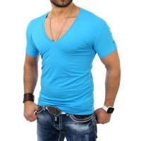Reslad T-Shirt V-Neck Uni RS-5052 Anthrazit 17100 XL