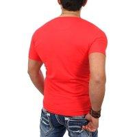 Reslad T-Shirt V-Neck Uni RS-5052 Grau 17100 S