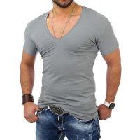 Reslad T-Shirt V-Neck Uni RS-5052 Khaki 17100 XL