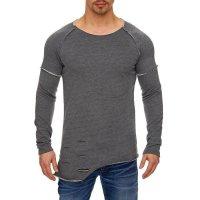 Herren Oversize Sweatshirt Pullover Hoodie TAZZIO 1229-1