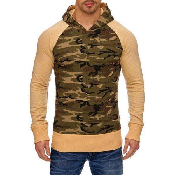 Herren Sweatshirt Pullover Hoodie TAZZIO 1232