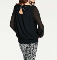 Blusenshirt, schwarz von Ashley Brooke