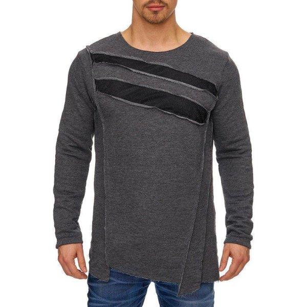 Herren Oversize Sweatshirt Pullover Hoodie TAZZIO 1233-1