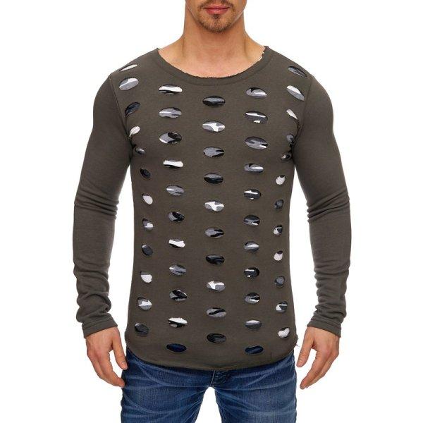 Herren Sweatshirt Pullover Hoodie TAZZIO 1234