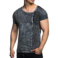 Herren T-Shirt im Vintage Look TAZZIO 16156