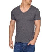 Herren T-Shirt mit V-Halsausschnitt TAZZIO 17100