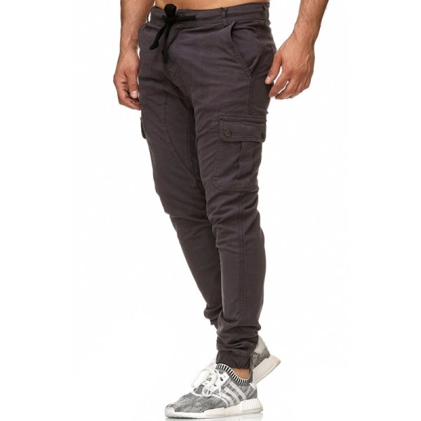 Italia Slim Fit Herren Stretch Chino Jeans Hose Denim...