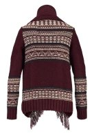 Cardigan, bordeaux-bunt von Superdry