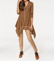 Pullover, camel-ecru von PATRIZIA DINI