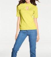Pullover m. Kaschmir, gelb von PATRIZIA DINI