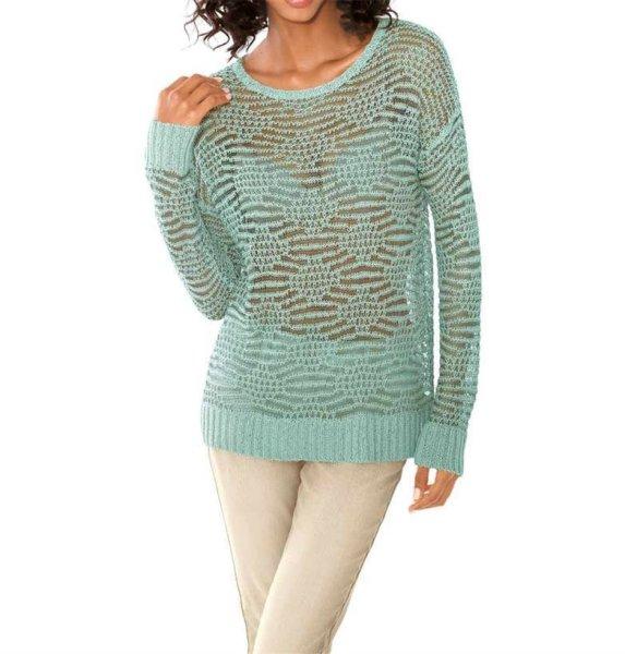 Pullover, mint von Linea Tesini