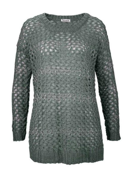 Pullover, grau von Tamaris