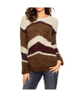 Pullover, cognac-bunt von Heine - Best Connections