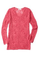 Pullover, flamingo von Sheego