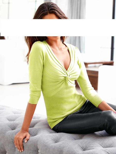 Pullover, kiwi von Heine - Best Connections