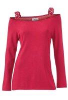 Pullover m. Ketten, rot von Heine