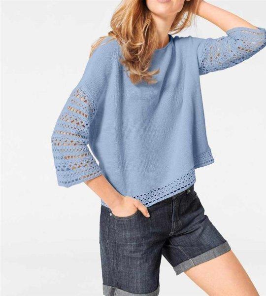 Pullover, blau von Heine - Best Connections