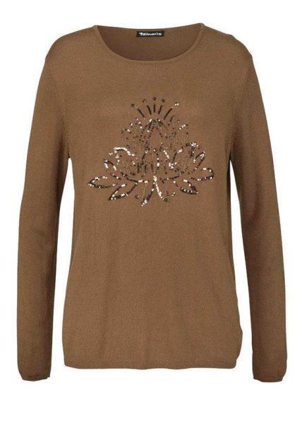 Pullover, braun von Tamaris