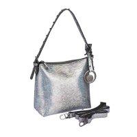 Handtasche, silberfarben von Merch Mashiah