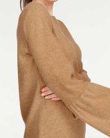 Kuschel-Pullover m. Volantärmeln, camel von Laura Scott
