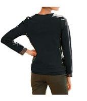 Shirtjacke, khaki-schwarz von Heine Grösse 40