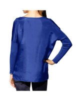Pullover, blau von Mandarin