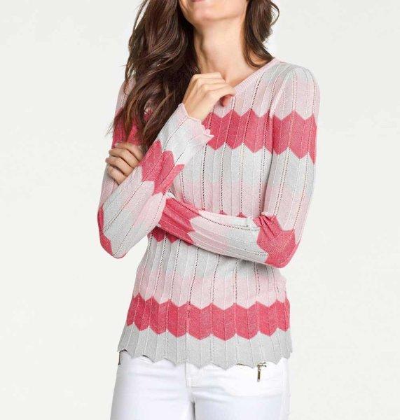 Pullover, koralle von PATRIZIA DINI