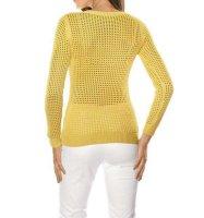 Pullover, gelb von Ashley Brooke