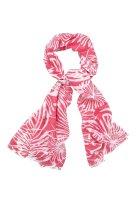 Schal, rosa-weiß von J. JAYZ