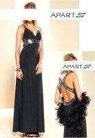 Abendkleid m. Pailletten, schwarz von APART