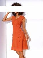 Bodyforming-Prinzesskleid, orange von Ashley Brooke