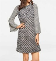 Kleid, bunt von Linea Tesini