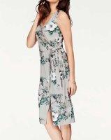 Kleid, grau-bunt von Vivance Collection