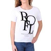 Madonna T-Shirt Damen MALIN Oversized Shirt mit ROFL...