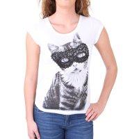 Madonna T-Shirt Damen FIEN Sweet Kitty Rückenteil...
