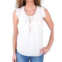 Madonna Damen Bluse ILONA Scoop Neck Long Shirt MF-740817