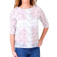 Madonna Bluse Damen COURTNEY Allover Schleifen Print...